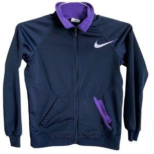 Girls Nike sweat jacket